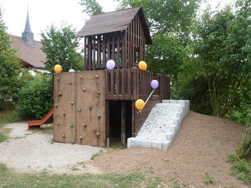 wiederer ffnung des kinderspielplatz darsberg nach renovierung. Black Bedroom Furniture Sets. Home Design Ideas